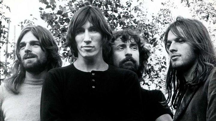 Pink Floyd, en una imagen de 1973