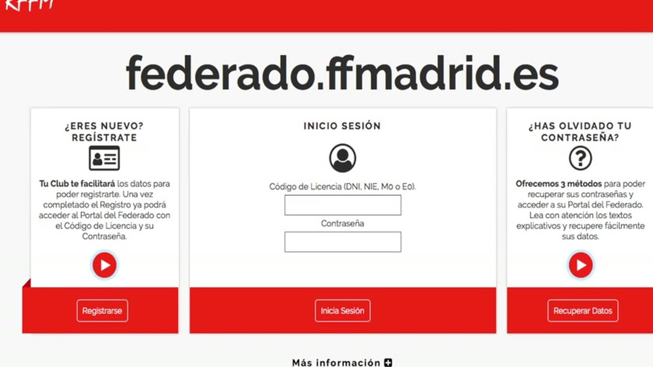 La RFFM implanta el Portal del Federado