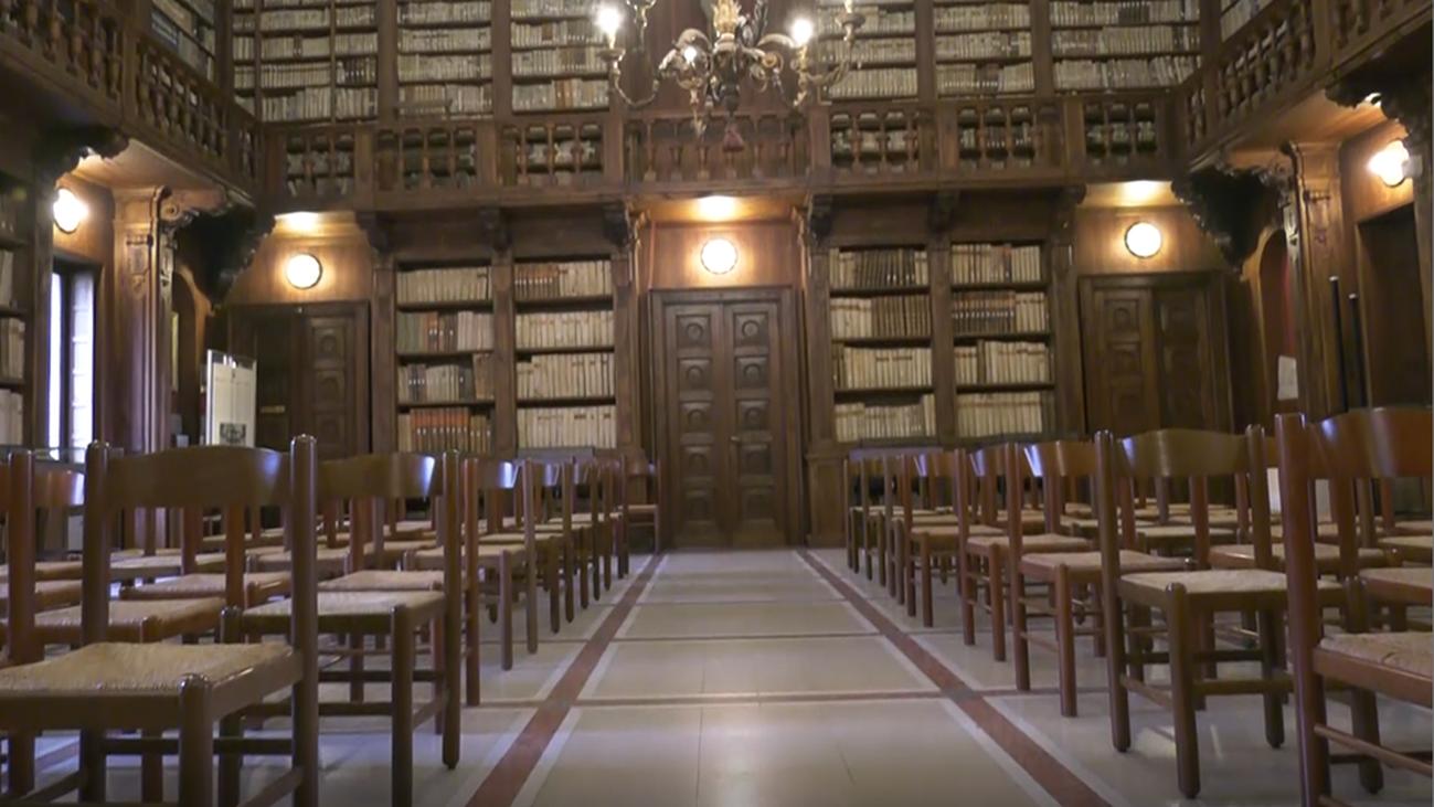 La Biblioteca Capitolare, la más antigua del mundo