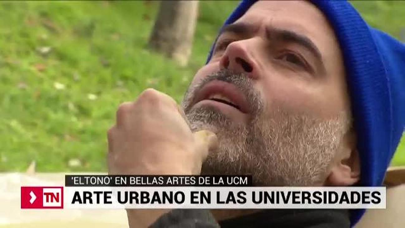Eltono lleva el arte urbano a la Complutense