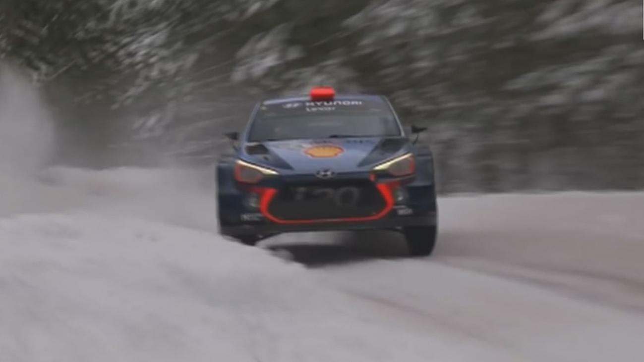Un rally para conductores extremos