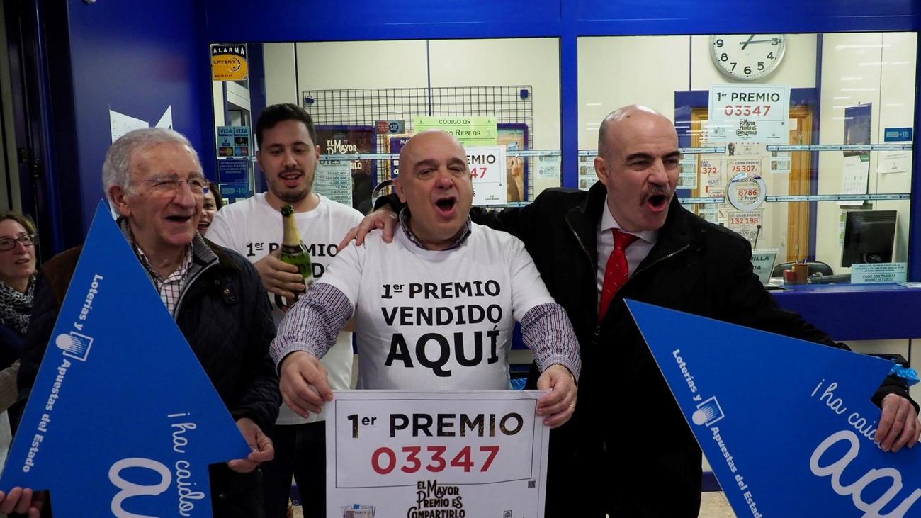 La suerte de Gordo llegó a Torrejón y a otras diez  localidades madrileñas
