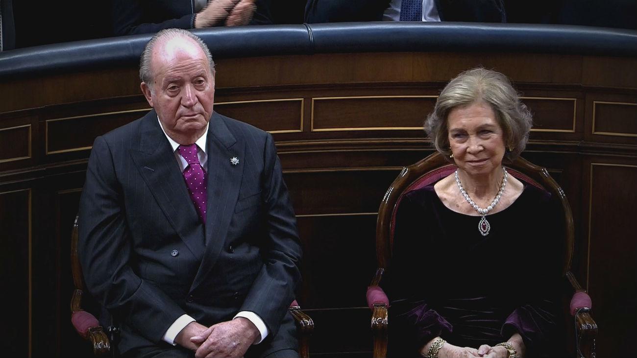 Emotivo reconocimiento a los Reyes Eméritos en el año de su 80 cumpleaños