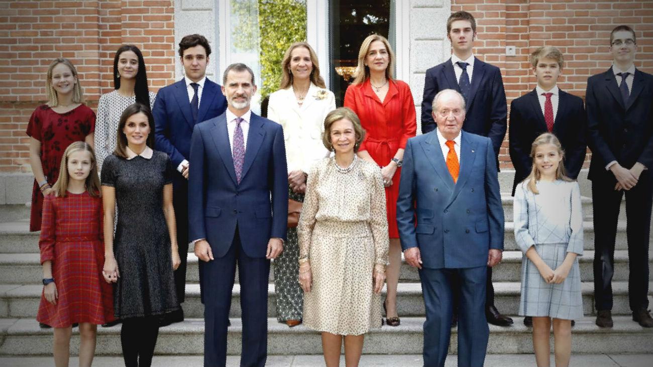 2018, un año de luces y sombras para la Casa Real