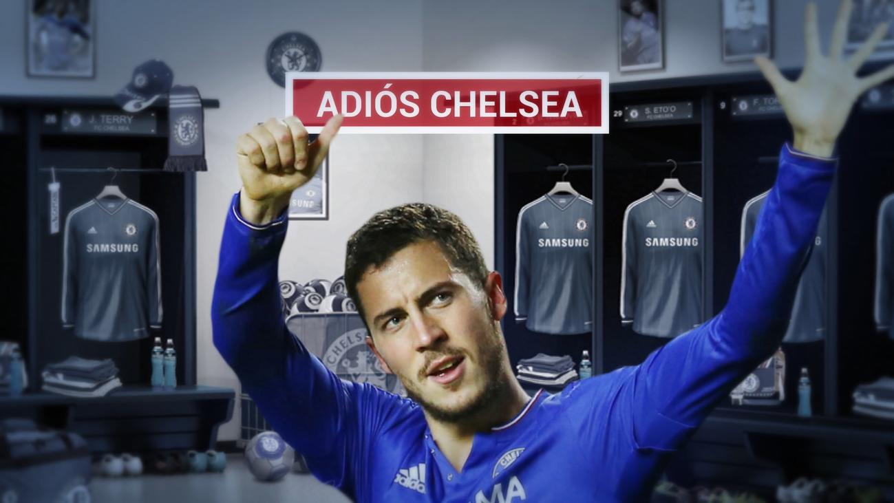 Hazard ya ha dicho al vestuario del Chelsea que se va al Real Madrid