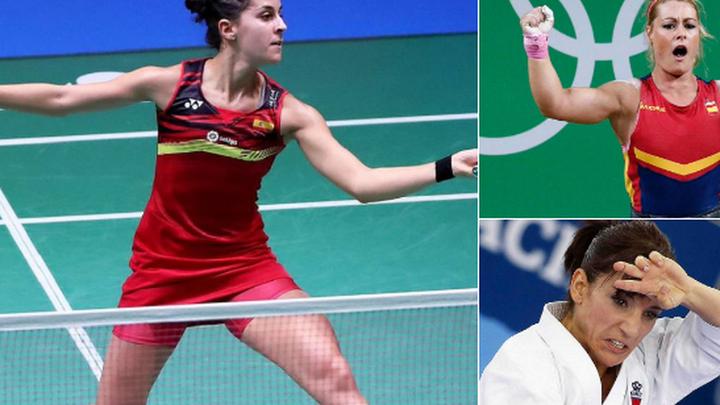 Carolina Marín, Lydia Valentín y Sandra Sánchez, las 'Supernenas' del deporte
