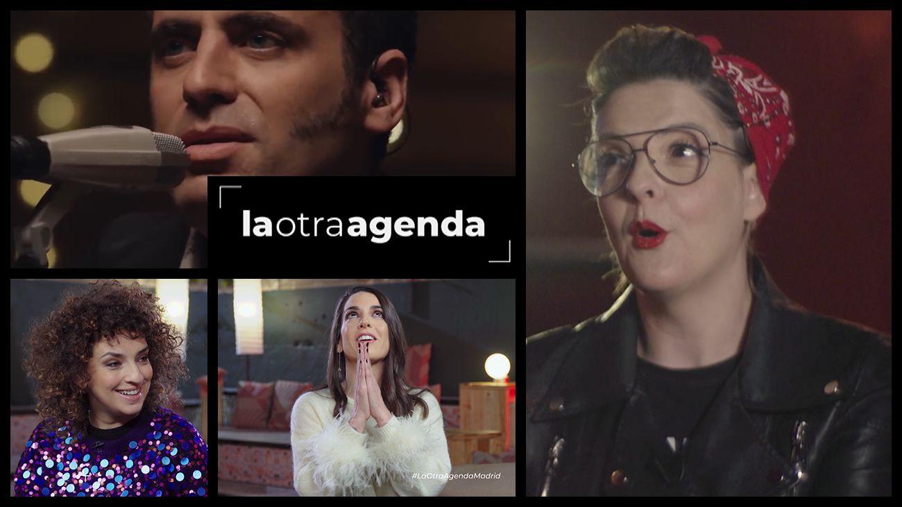 Ruth Lorenzo, Depedro, Virginia Riezu y Eva Campos Navarro, en La Otra Agenda