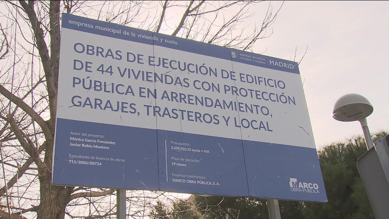 El Ayuntamiento tiene  3.374 viviendas sociales en construcción y  29.000 familias en lista de espera