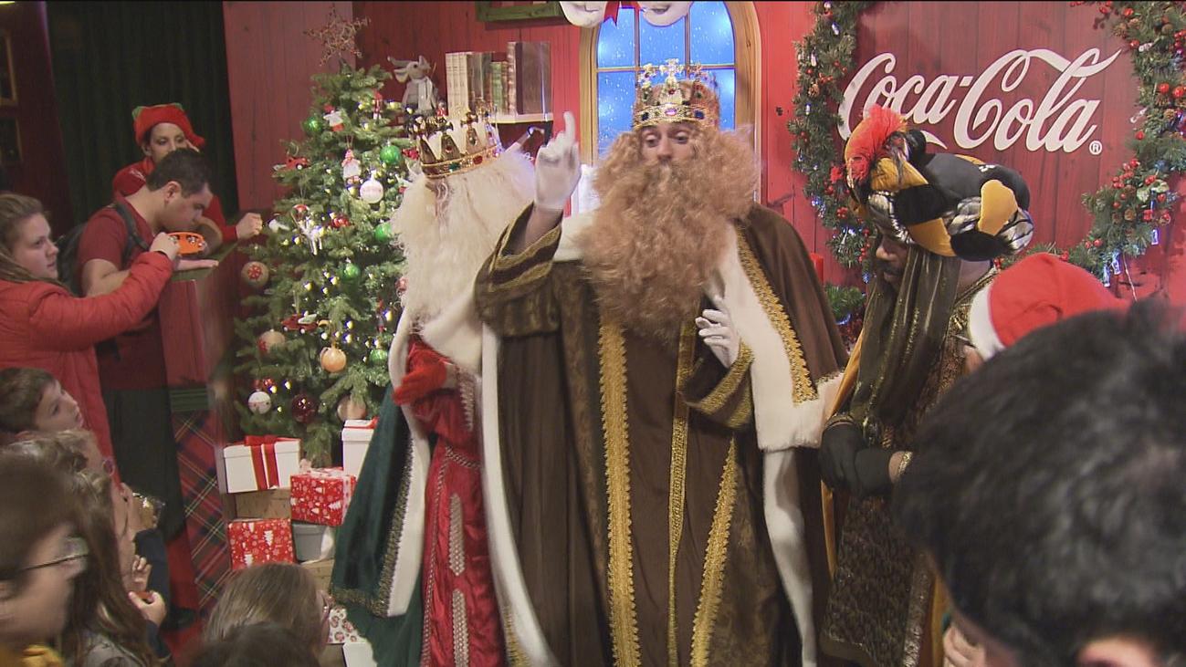 Ya se puede dejar la carta a los Reyes Magos en la Casa de la Navidad