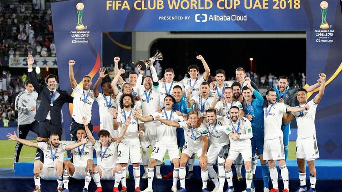 Mundial de Clubes del Real Madrid