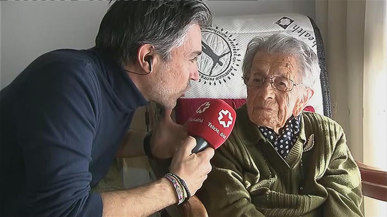 Ella es Julia, vive en San Sebastián de los Reyes y cumple 105 años