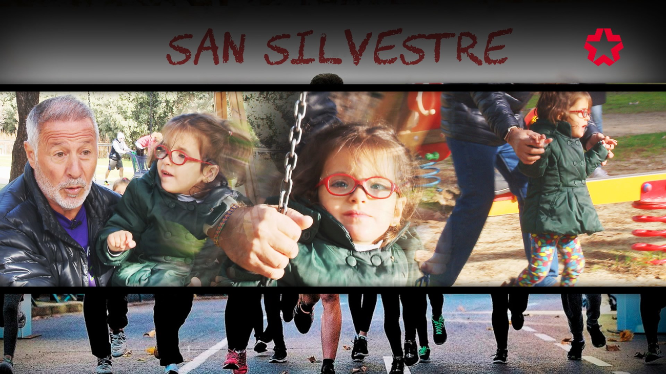 La especial historia de Tania y su abuelo Luis en la San Silvestre Vallecana