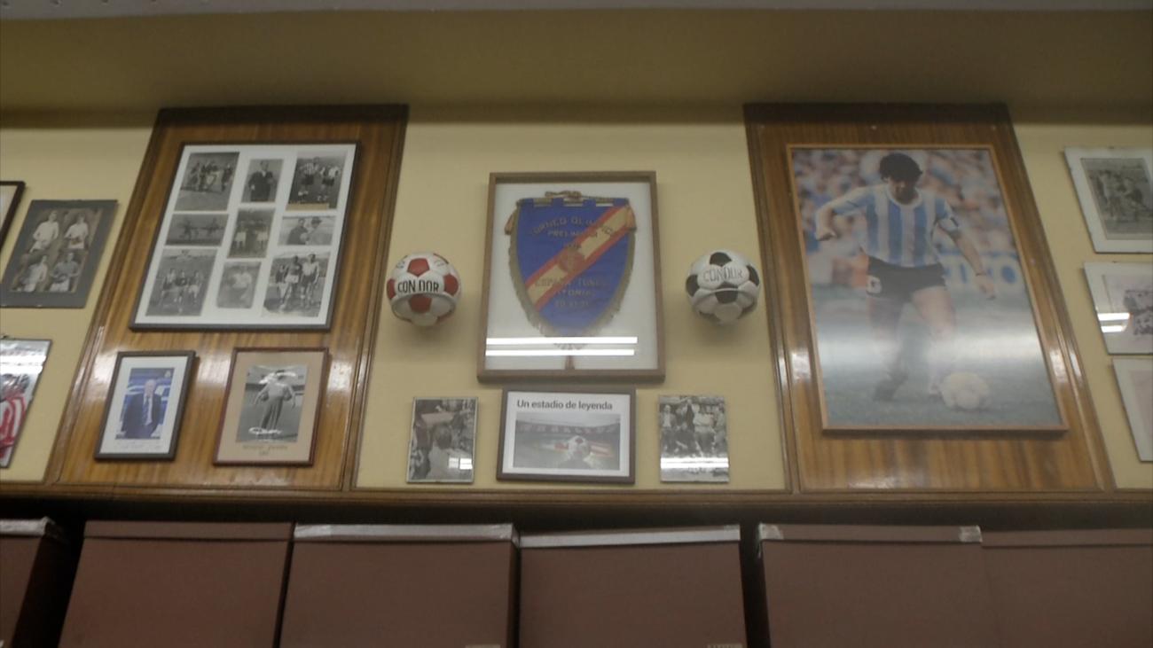 El primer balón del mundo nació en Madrid