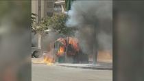 Continúa la quema de contenedores en Humanes