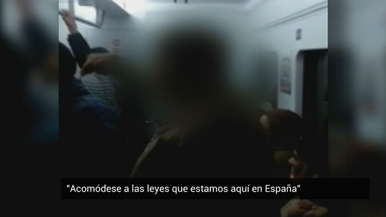 Denuncian un episodio racista en el Cercanías de Madrid