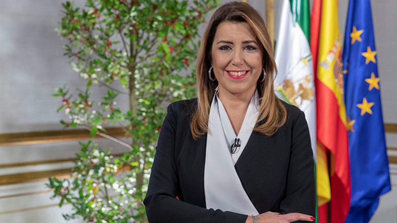 """Díaz alerta de la """"amenaza"""" de un """"vaciamiento de la autonomía"""" andaluza"""