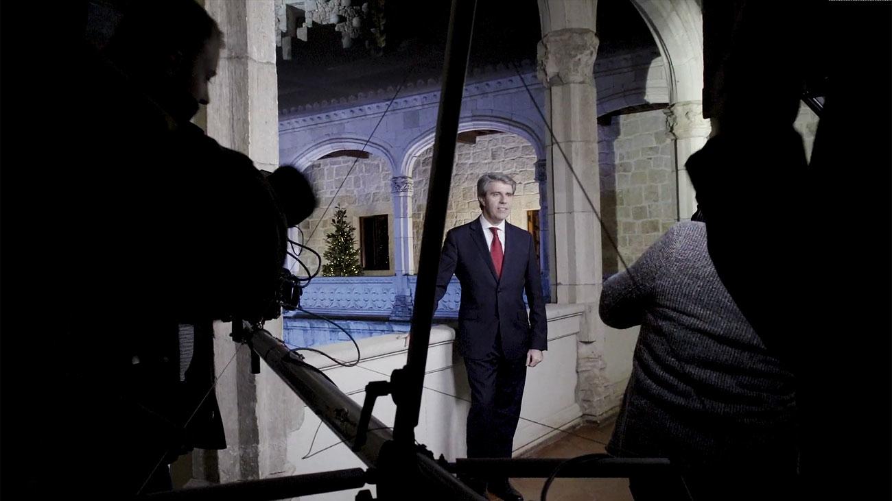 Garrido se dirige por primera vez a los madrileños en Fin de Año, esta noche en Telemadrid (21:00)