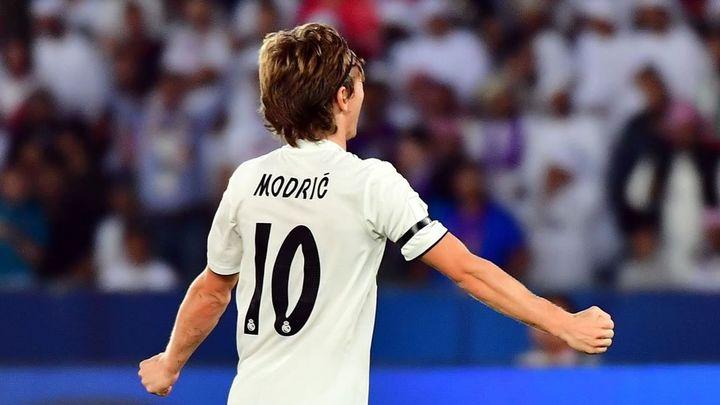 Gol de Modric a Al Ain (1-0)