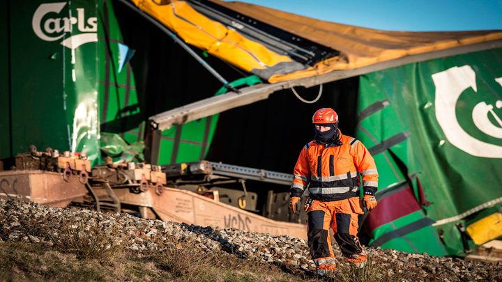 Seis muertos y 16 heridos leves en un accidente ferroviario en Dinamarca