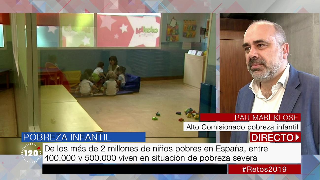 Uno de cada tres menores de 16 años está en riesgo de pobreza en España