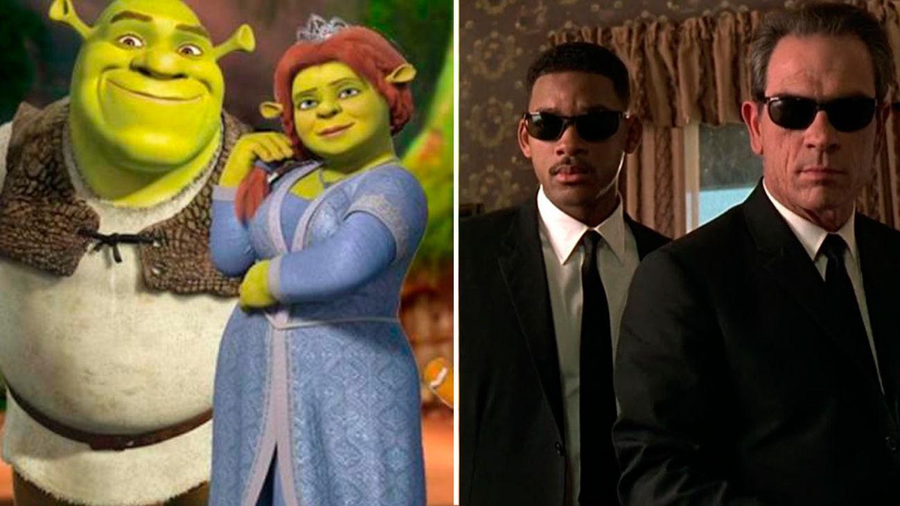 Navidad de cine: 'Shrek' y 'Men in black'