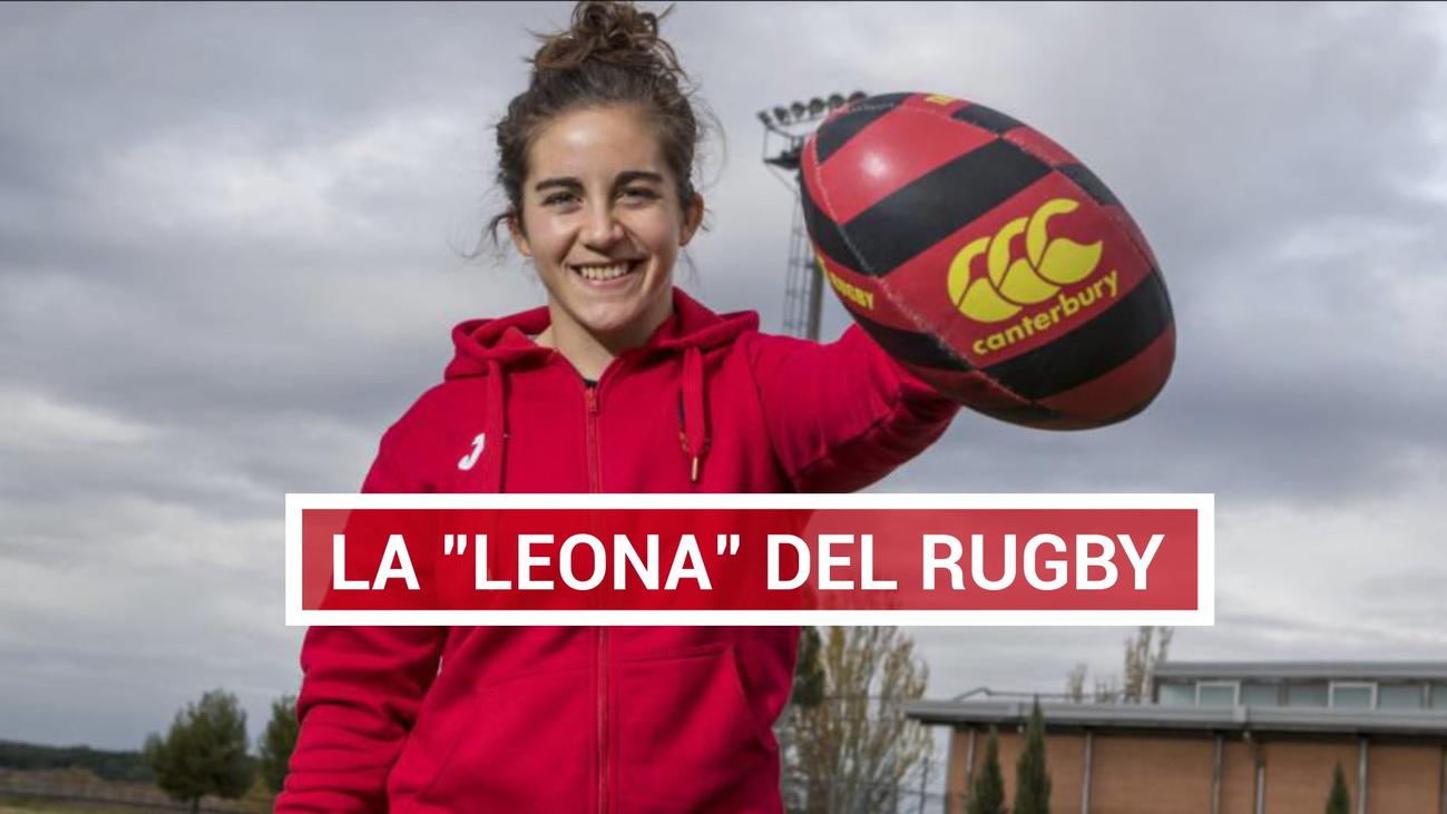 Patricia García, estrella del rugby 7 y XV