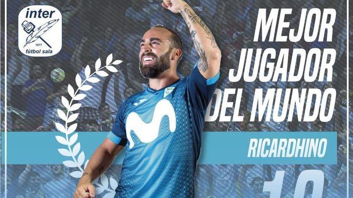"""Jesús Velasco: """"Ricardinho es el mejor, la bandera del fútbol sala"""""""