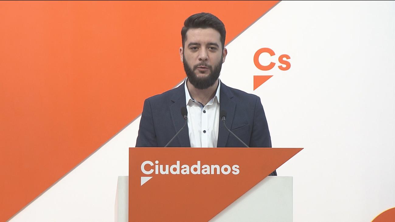 """Ciudadanos no gobernaría con Vox en Madrid porque es """"antieuropeo"""""""