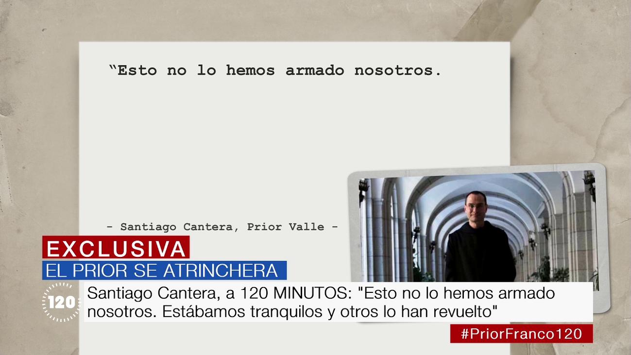 Santiago Cantera ratifica su rechazo a permitir al Gobierno el acceso para exhumar a Franco