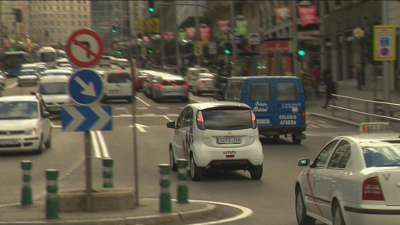 Incremento del uso de coches eléctricos compartidos a raíz de Madrid Central