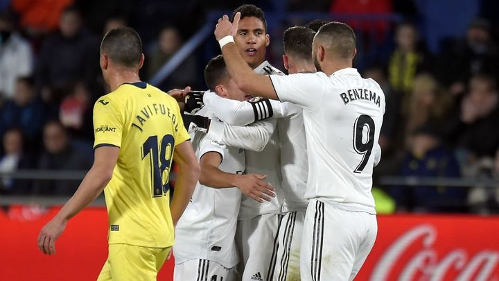 Gol de Varane al Villarreal (1-2)