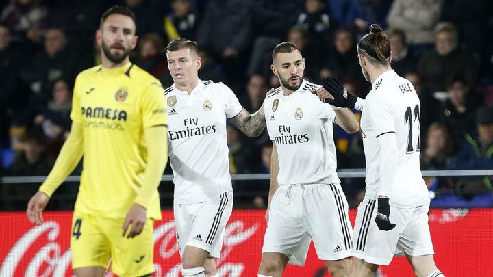 Gol de Benzema al Villarreal (1-1)