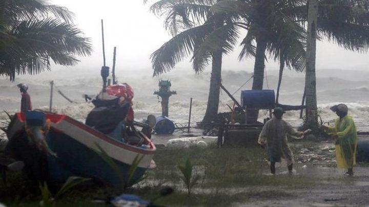 Unos 30.000 evacuados en Tailandia por la tormenta Pabuk