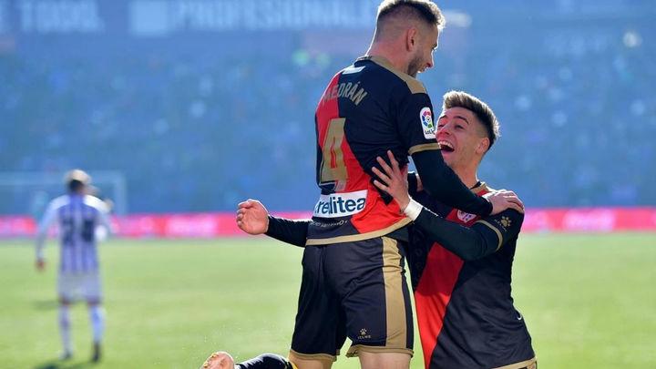 0-1. El Rayo hace valer el gol de Medrán y las paradas de Dimitrievski