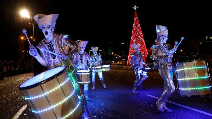 La Cabalgata de Reyes más inclusiva de la historia llena ya de magia Madrid