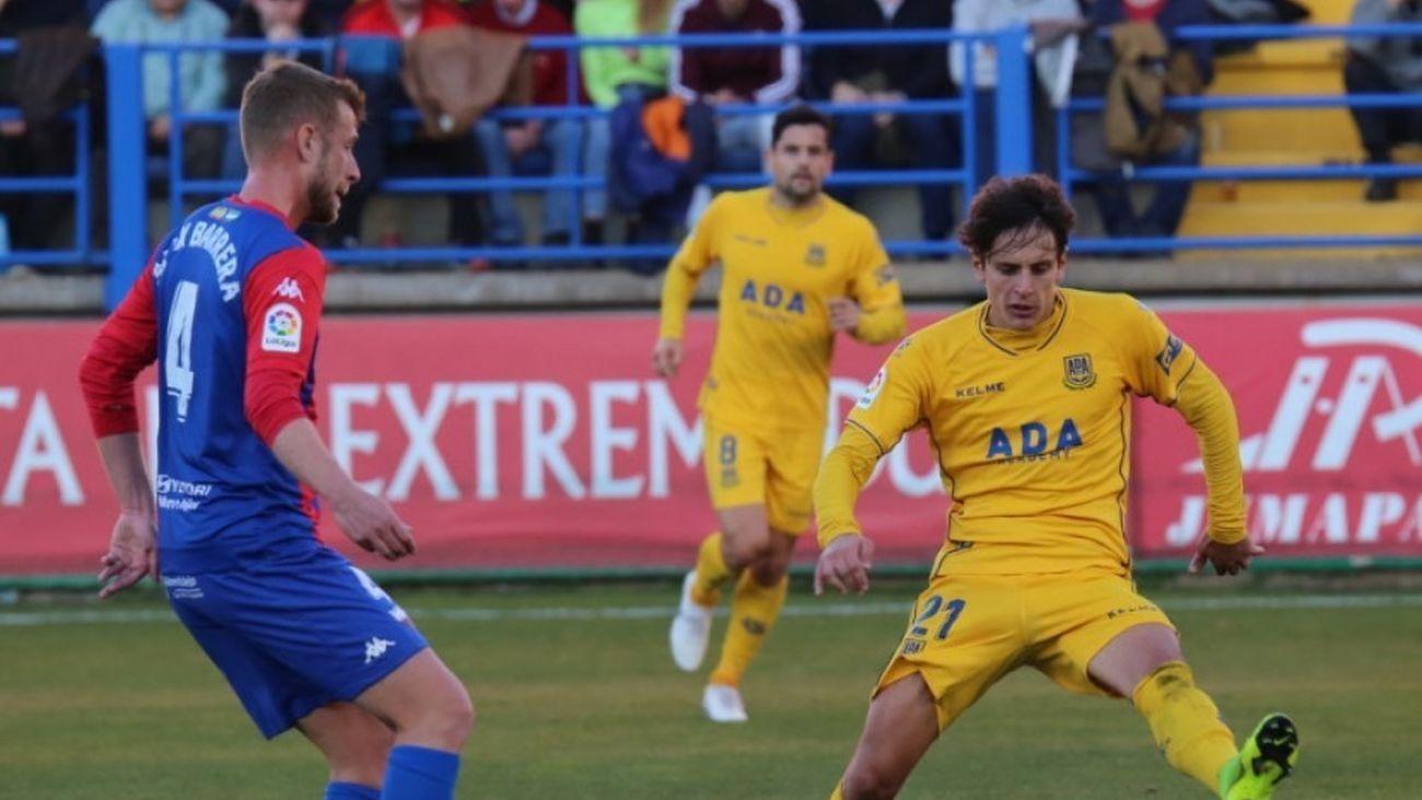 La AD Alcorcón pierde en Extremadura en su primer partido de 2019