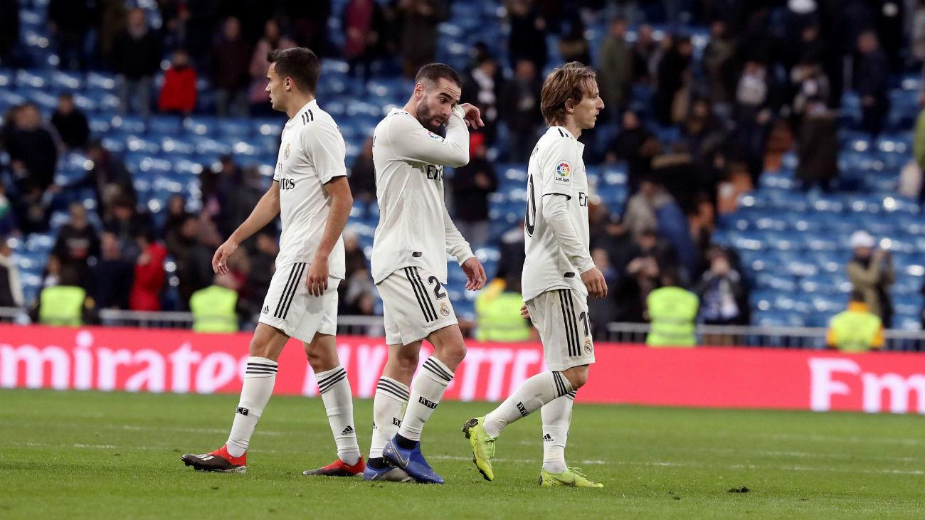 0-2. El Real Madrid se baja del tren de la Liga