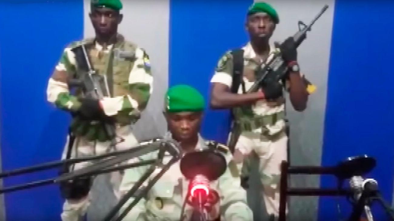 Arrestan a los militares que dieron un golpe de estado en Gabón