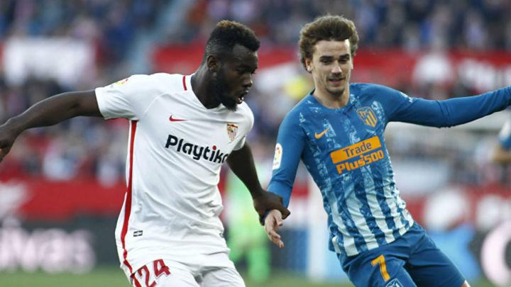 1-1. El Atlético mantiene la segunda plaza ante el Sevilla