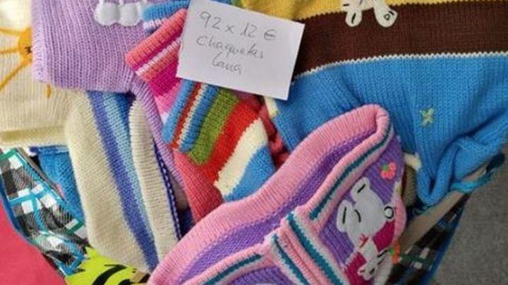 La Policía interviene más de 25.000 prendas de falso cachemir en Cobo Calleja