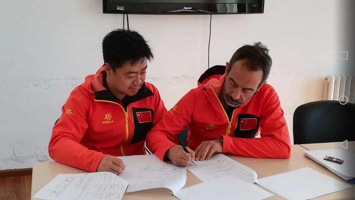 Entrevista a Toni Roy, seleccionador de China de escalada