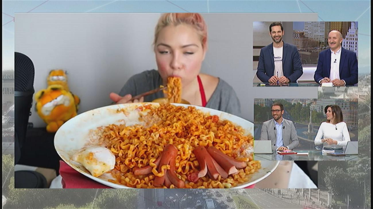 'Mukbang', la nueva moda de comer sin parar