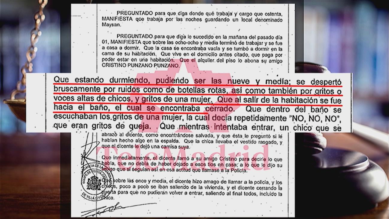Un testigo presenció la agresión de 'la manada de Alicante' y no hizo nada