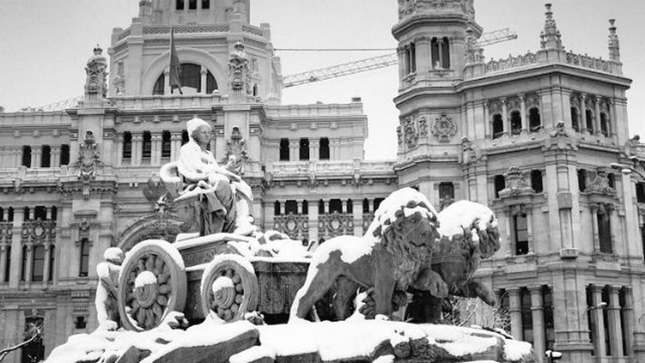 Nevada histórica en Madrid