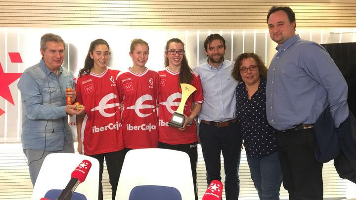 Nos visitan las campeonas infantiles de España de baloncesto
