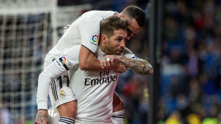 Gol de Sergio Ramos al Leganés (1-0)