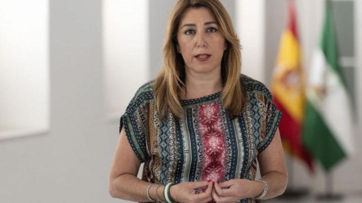 Susana Díaz, embarazada de cuatro meses
