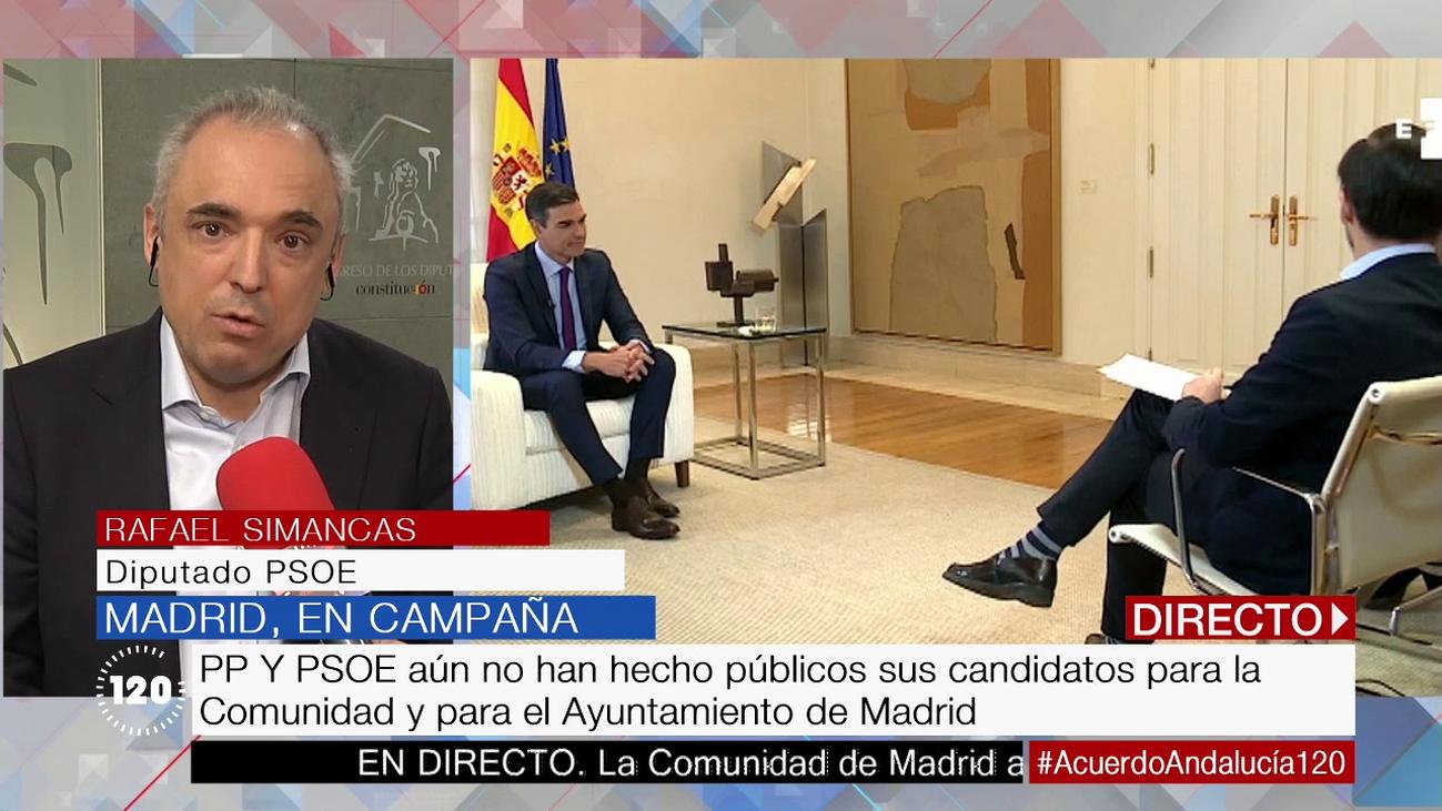 """Rafael Simancas: """"El Ayuntamiento de Madrid no está funcionando bien"""""""
