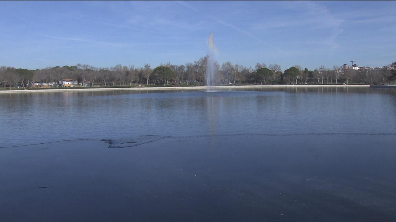 Inaugurado el lago de Casa de Campo tras un año de obras