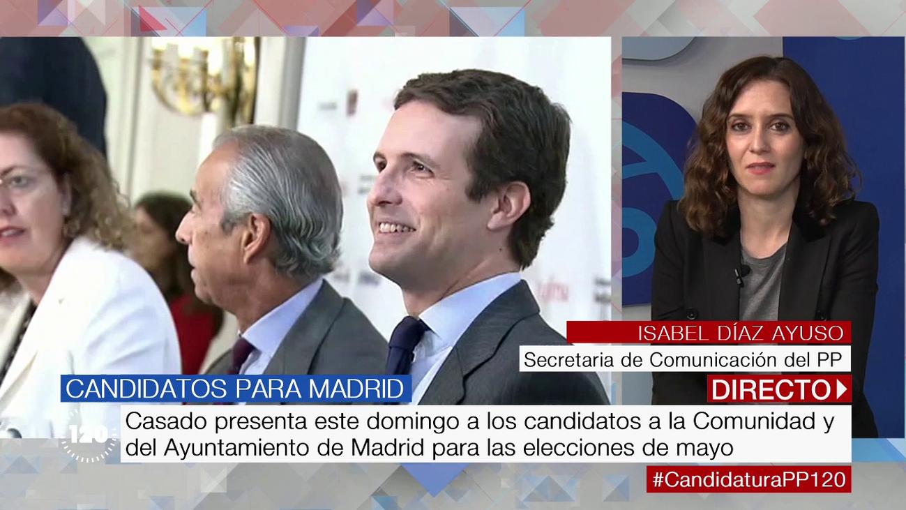 """Isabel Díaz Ayuso: """"Pablo Casado dará con el ticket electoral perfecto"""""""
